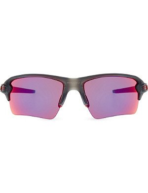 OAKLEY Flak 2.0 XL PRIZM Road wrap-around sunglasses