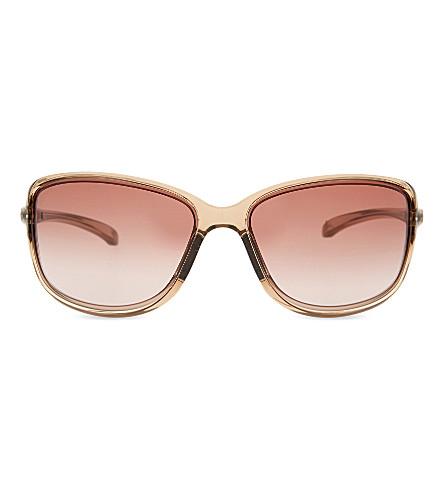 98a487bda9 OAKLEY OO9301 Cohort square-frame sunglasses (Sepia