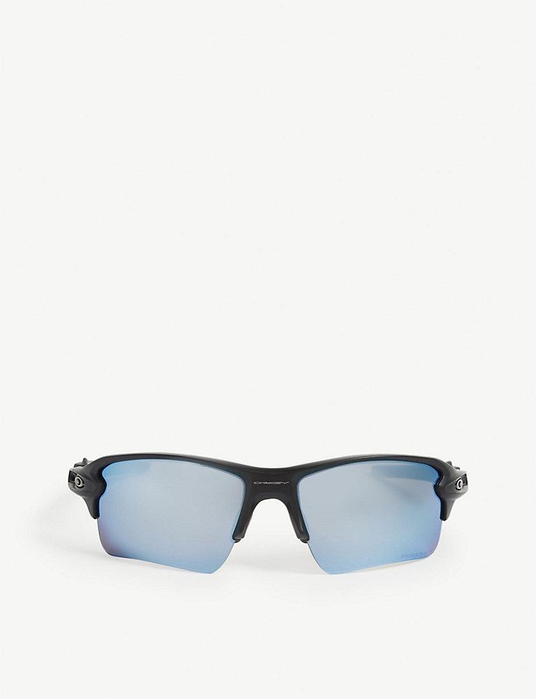 569840af4261 OO9188-58 Flak 2.0 XL rectangle-frame sunglasses - Matte black ...