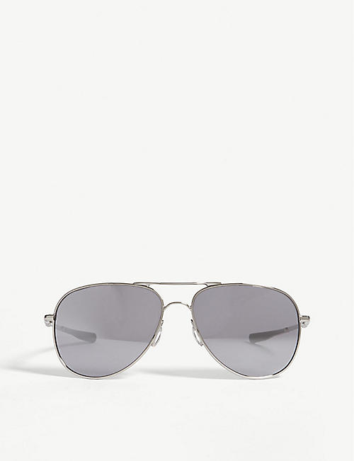 2a73e3fbe8b OAKLEY - Elmont M pilot-frame sunglasses