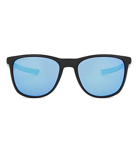 079fd9147a OAKLEY Trillbe X PRIZM polarised square-frame sunglasses (Matte+black