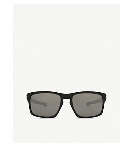 Oakley OO9262 SLIVER RECTANGLE-FRAME SUNGLASSES
