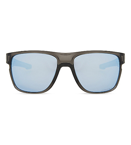 eda8d2c6ea OAKLEY Crossrange XL PRIZM Deep Water polarised square-frame sunglasses  (Grey