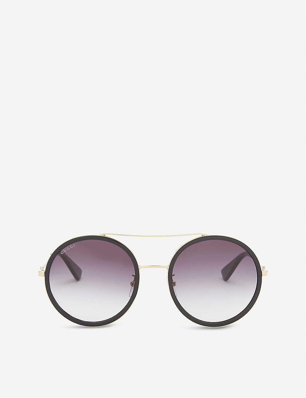 c5e9abdfeb6 Gg0061s round-frame sunglasses