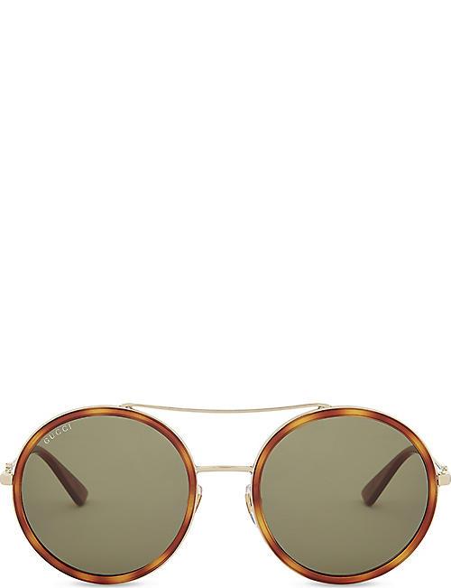 2727119a09 Round - Sunglasses - Accessories - Womens - Selfridges
