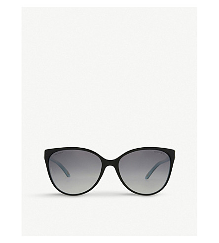 3256171ad39f TIFFANY   CO TF4089B Aria concerto cat eye-frame sunglasses (Black blue