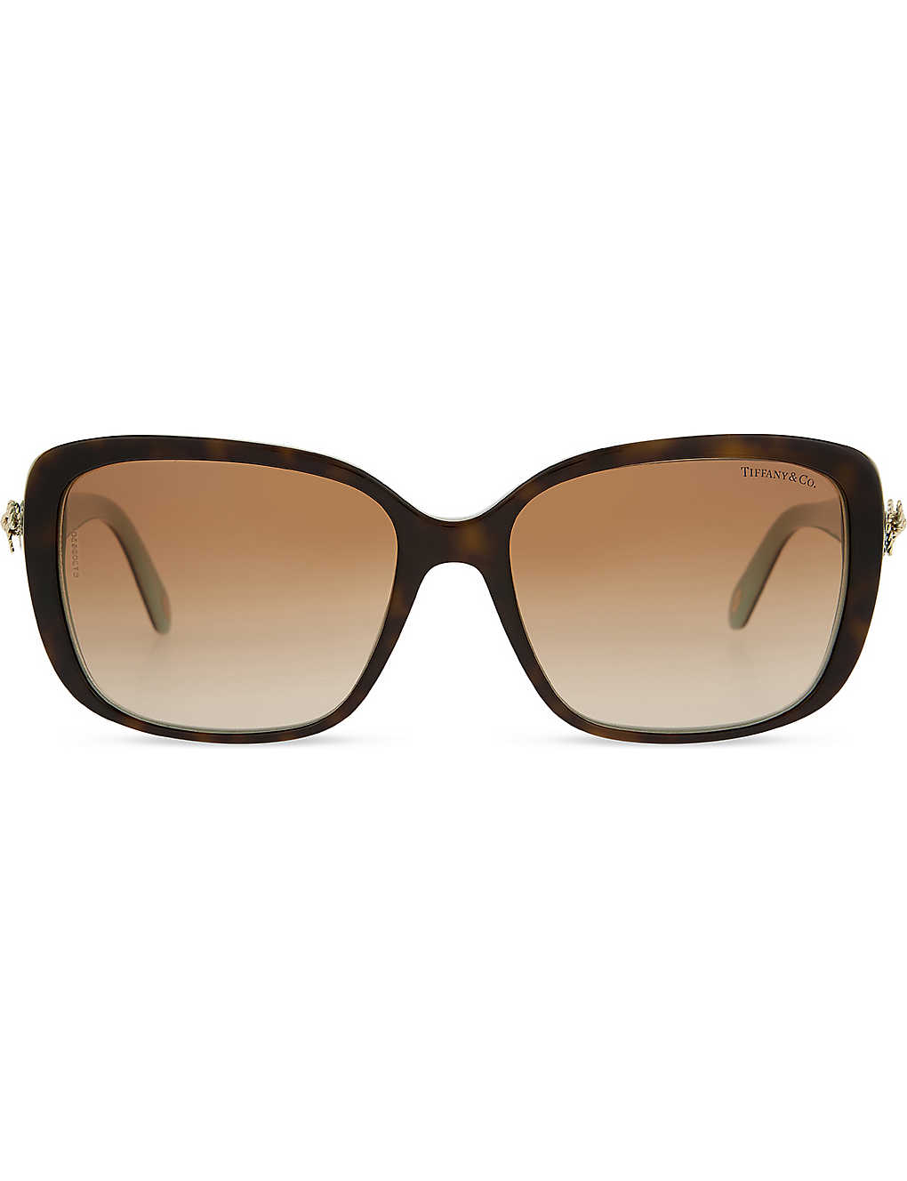 3770a3b788df TIFFANY & CO - TF4092 Twist square-frame sunglasses | Selfridges.com