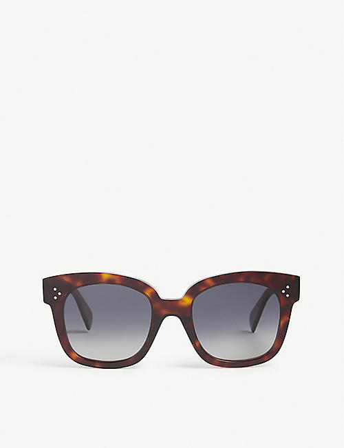 CELINE: Square frame sunglasses