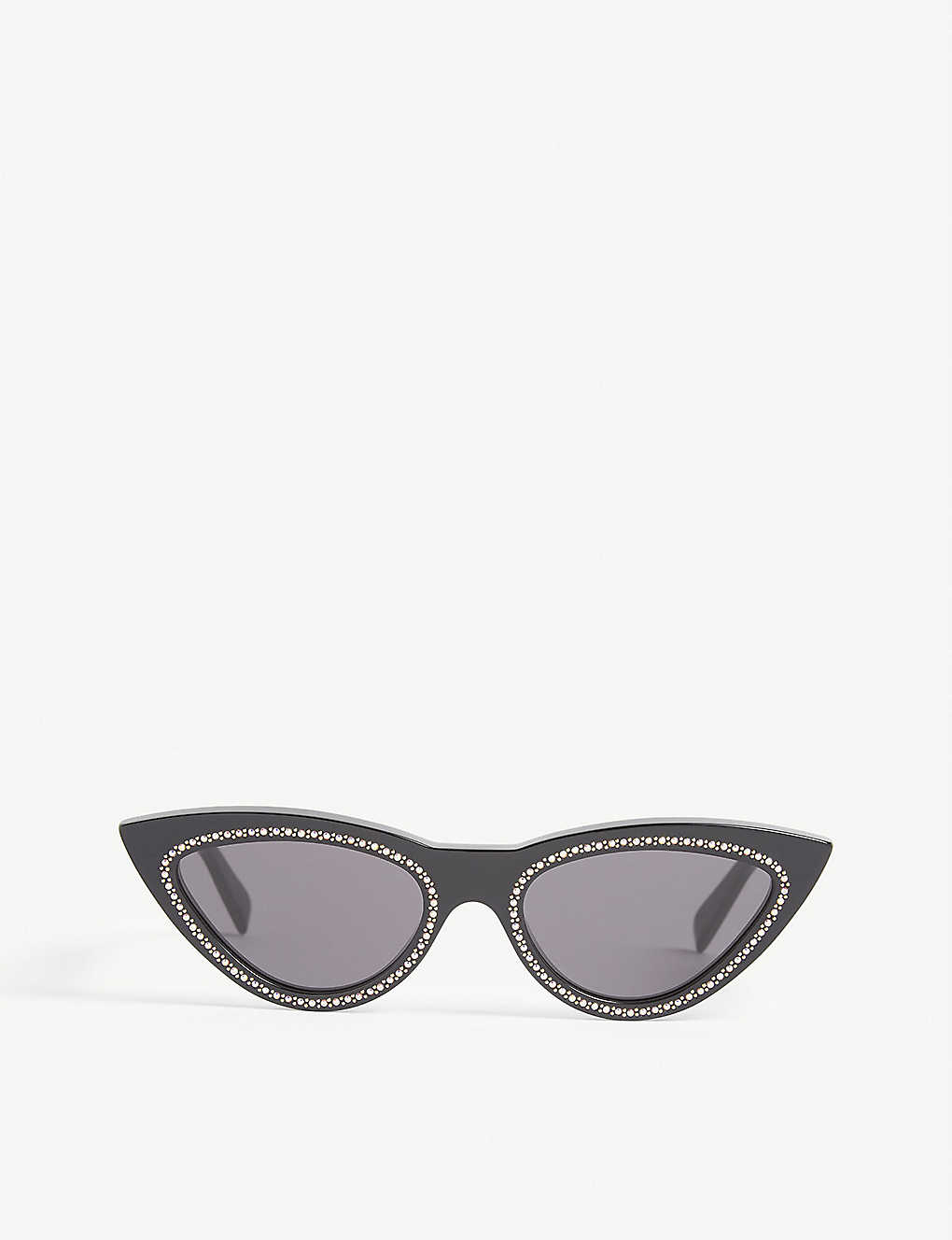 CELINE: Cl4019IS embellished cat-eye frame sunglasses