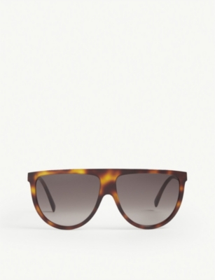CELINE CL4006IN aviator Havana sunglasses