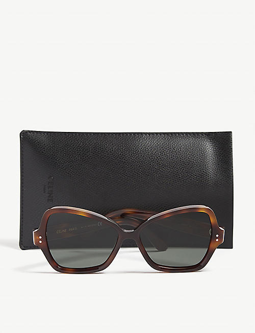 CELINE Cl4007 butterfly-frame sunglasses
