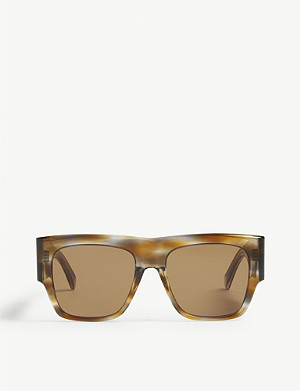 CELINE Cl4056in square-frame acetate sunglasses