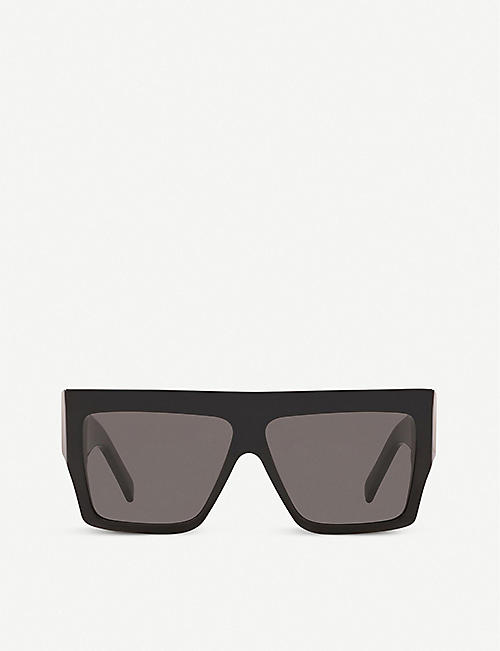 CELINE: CL40092I acetate square-frame sunglasses