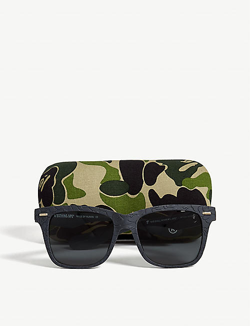 BAPE BS13030 rectangle-frame sunglasses