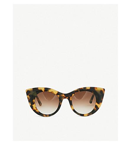 fcaabc89c5 THIERRY LASRY Hedony tortoiseshell-effect sunglasses (Tortoise+brown