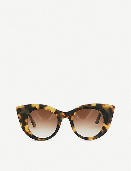 41723d86842 THIERRY LASRY Hedony tortoiseshell-effect sunglasses
