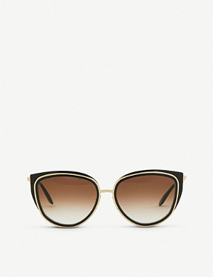 THIERRY LASRY Enigmaty square-frame sunglasses