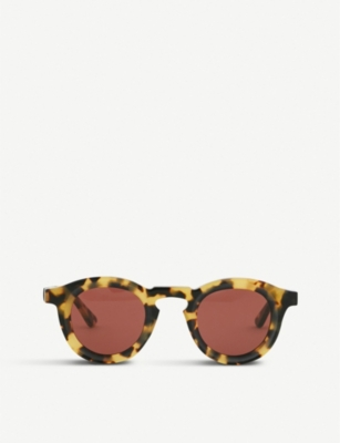 THIERRY LASRY Flaky tortoiseshell-effect sunglasses