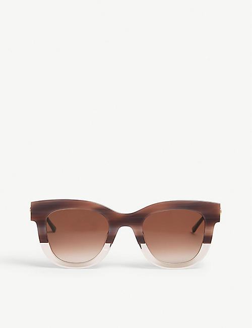 THIERRY LASRY: Cat-eye frame sunglasses