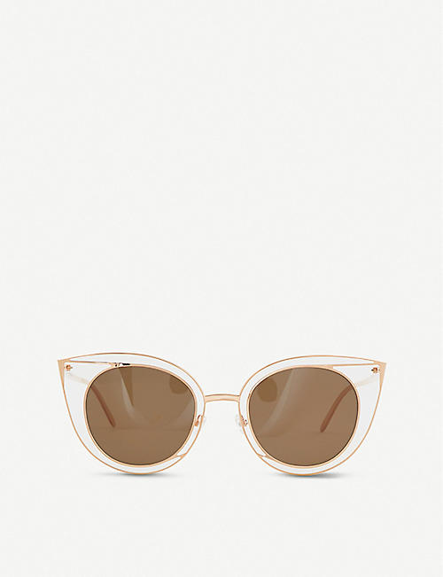 THIERRY LASRY: 08O000171 Morphology cat-eye sunglasses