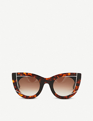 THIERRY LASRY Nervermindy cat eye sunglasses