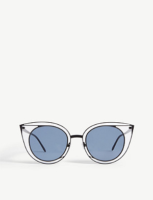 THIERRY LASRY 08o000160 形态猫眼太阳镜