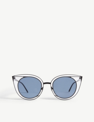 THIERRY LASRY 08o000160 Morphology cat-eye sunglasses
