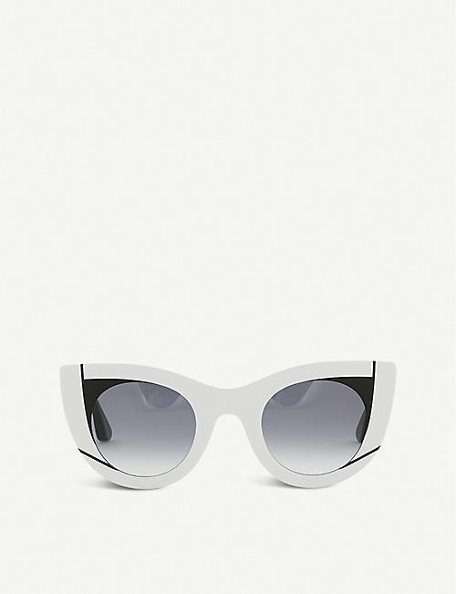 THIERRY LASRY Nevermindy cat eye sunglasses