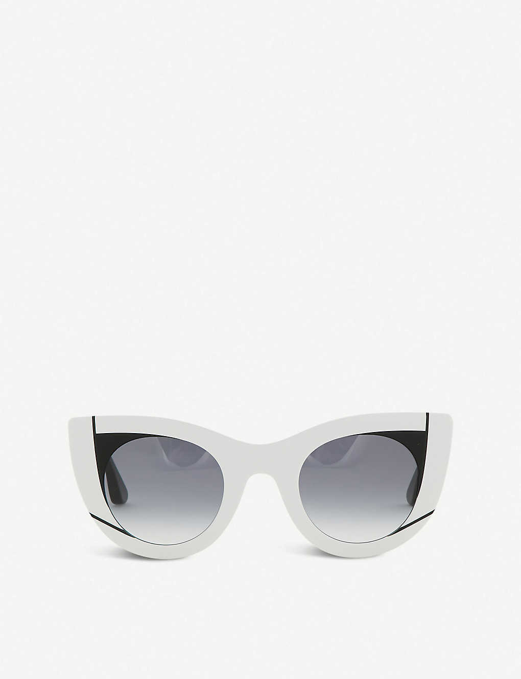 THIERRY LASRY: Nevermindy cat eye sunglasses