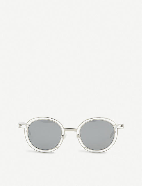THIERRY LASRY Probably round-frame sunglasses