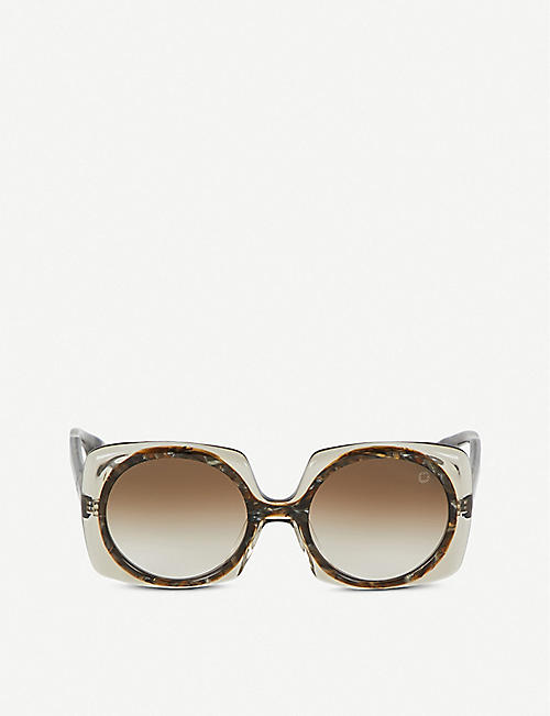 BLAKE KUWAHARA Botta acetate sunglasses