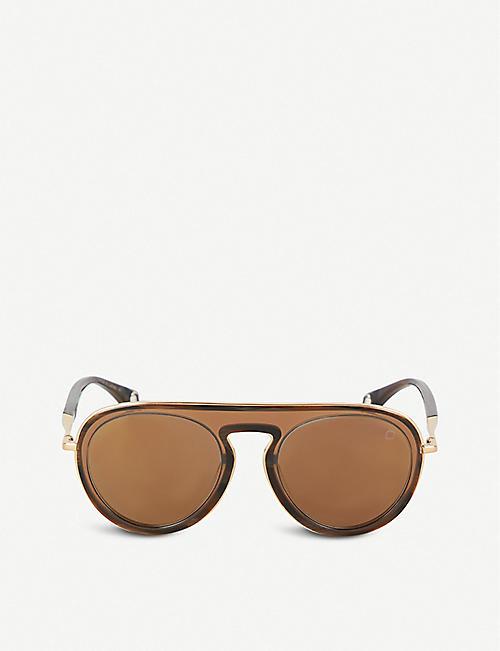 3762aef11be BLAKE KUWAHARA Eero aviator acetate sunglasses