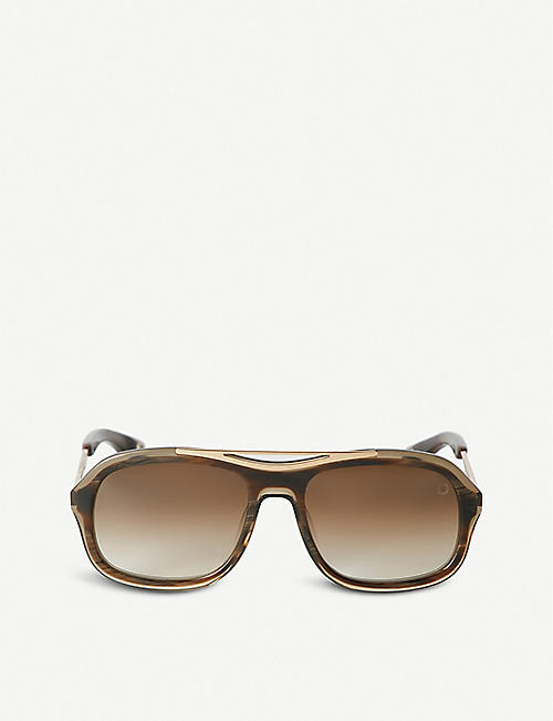 BLAKE KUWAHARA Niemeyer acetate sunglasses