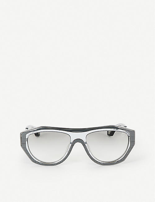 BLAKE KUWAHARA: Larsen acetate and metal sunglasses