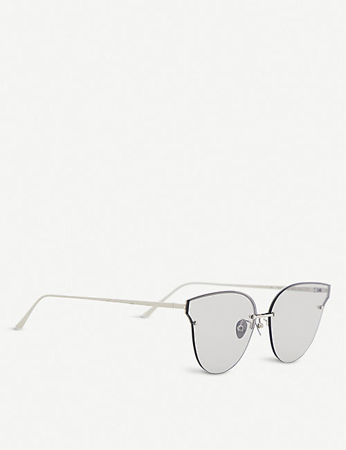 PROJECT PRODUCKT FN-8 CWGLD cat eye aviator sunglasses