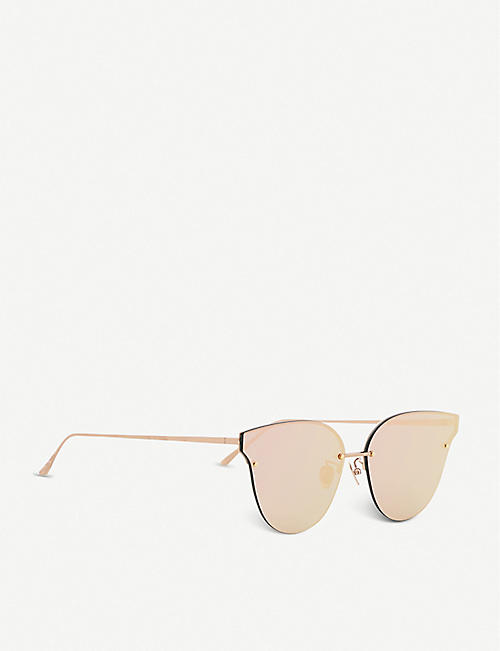 PROJECT PRODUCKT FN-8 CPG cat eye aviator sunglasses