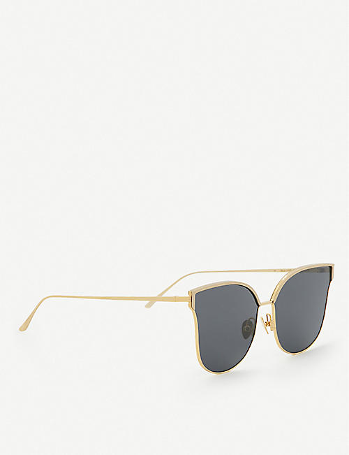 PROJECT PRODUCKT FN-11 CGLD cat eye aviator sunglasses