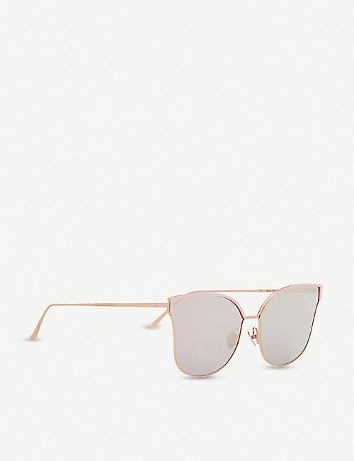 PROJECT PRODUCKT FN-11 CPG cat eye aviator sunglasses