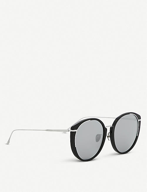 PROJECT PRODUCKT FN-6 C01WG tinted square sunglasses