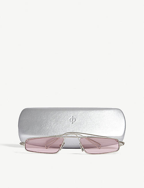 NATURE OF REALITY (NOR) Alchemy rectangle sunglasses