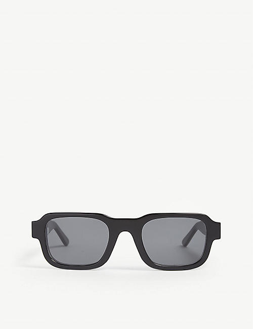 THIERRY LASRY: Enfants Riches Déprimés The Isolar 2 square-frame sunglasses
