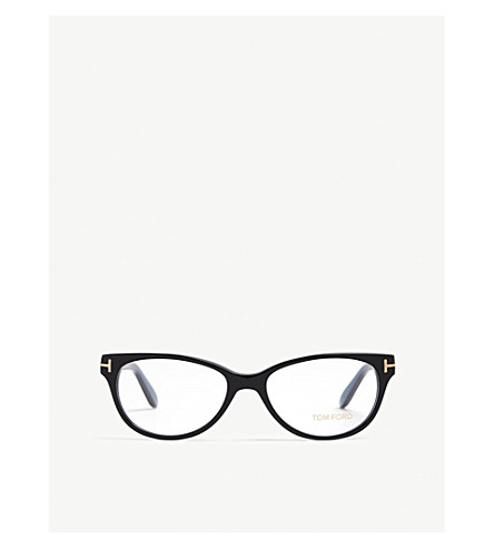 5ae514db18 ... TOM FORD Havana Tf5535 rectangle-frame optical glasses (Blue.  PreviousNext