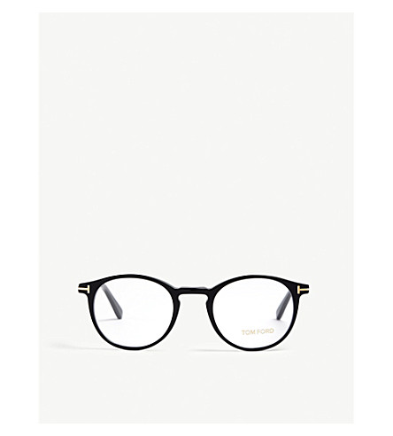e3c48be5cd ... TOM FORD Ft5294 001 round optical glasses (Black. PreviousNext