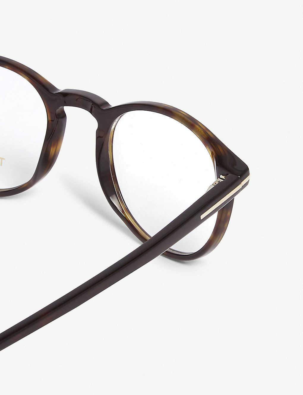 9c18b6f4739e5 TOM FORD - TF5294 round-frame sunglasses