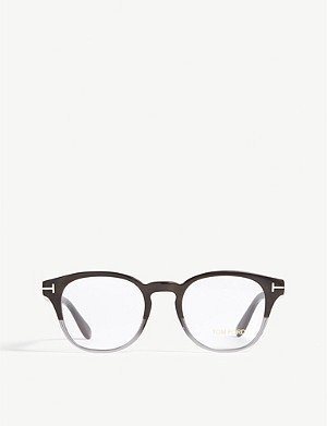 TOM FORD TF5400 round-frame glasses