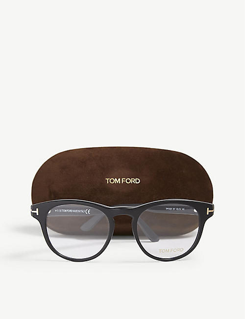 TOM FORD TF5426 round-frame glasses