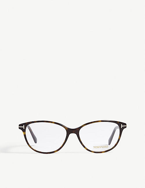 5e904626187 TOM FORD Tortoiseshell Tf5421 cat-eye optical glasses