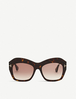 TOM FORD Emmanuelle square-frame sunglasses