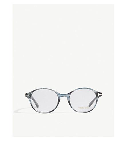 f825e158a1cbf TOM FORD - TF5428 round-frame glasses