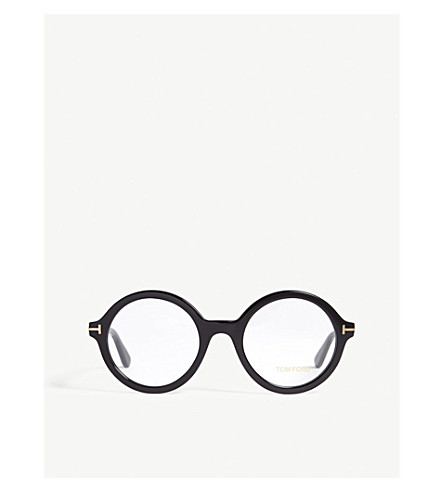 762d5a2236d TOM FORD TF5461 round-frame glasses (Black
